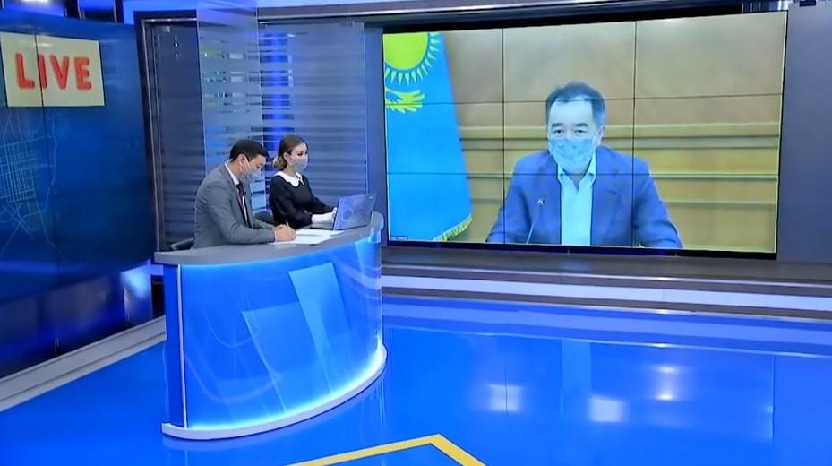 Эпидситуация в Алматы: сегодня, 21 апреля, в 19.00 аким Алматы Бакытжан Сагинтаев ответит на вопросы горожан