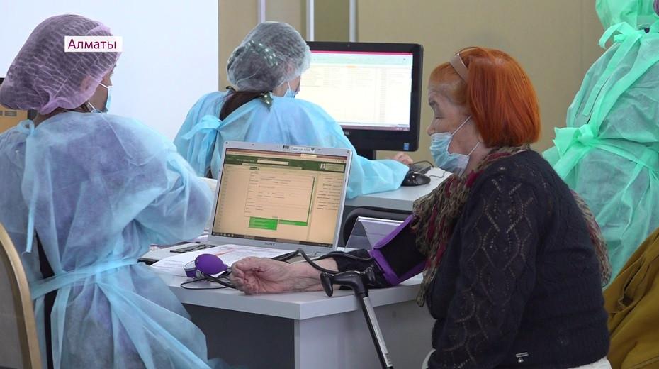 Новый прививочный пункт открылся в центре Алматы