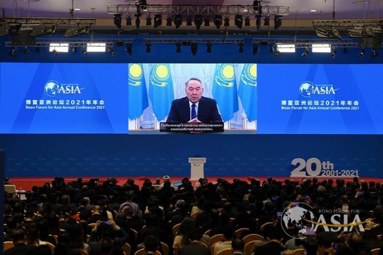Елбасы обратился к участникам Боаоского азиатского форума