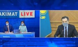Только массовая вакцинация поможет в борьбе с пандемией - Бакытжан Сагинтаев
