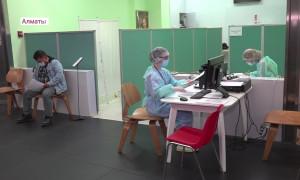 """Более 155 000 жителей города привились """"Спутником-V"""" - Алматы в лидерах по количеству вакцинированных в стране"""