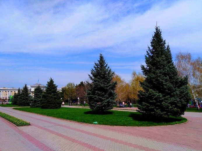 Погода в Алматы с 26 апреля по 2 мая 2021