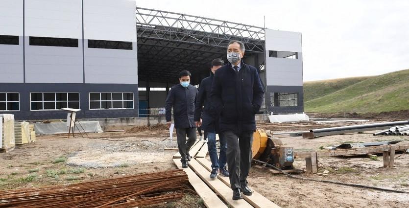 Б. Сагинтаев: Инвестиционный потенциал промышленных парков более 4 млрд тенге