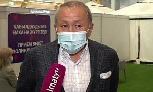Если все казахстанцы придут на вакцинацию, мы победим пандемию в нашей стране - Нурлан Смагулов