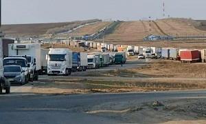 Усиление контроля: грузовики скопились на границе России и Казахстана