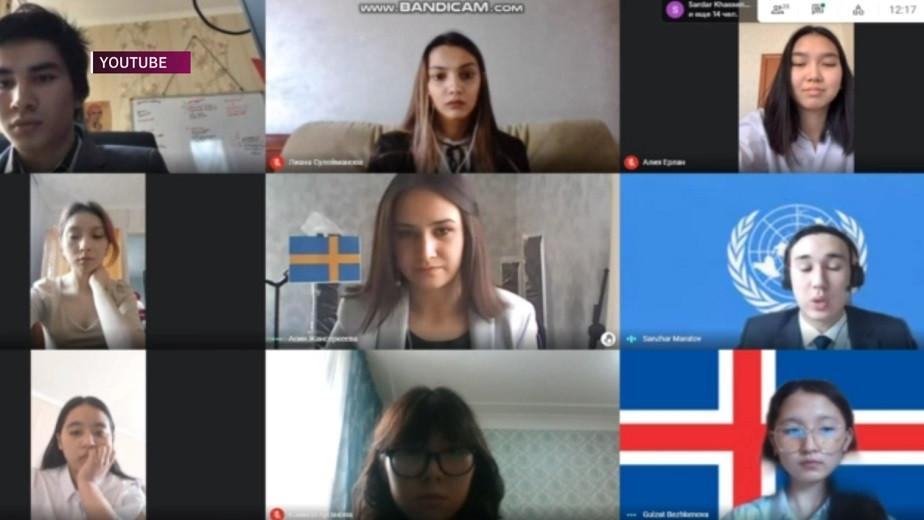 Проблему влияния технического прогресса на экологию обсудили студенты казахстанских и зарубежных вузов