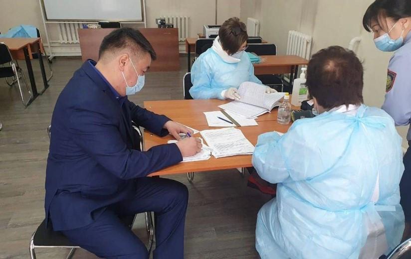 Департамент полиции Алматинской области: вакцинация является гарантией коллективной безопасности
