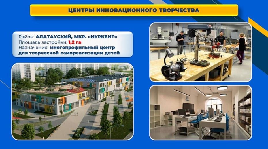 Новые школы и центры творчества: алматинцы высоко оценили проекты по строительству соцобъектов
