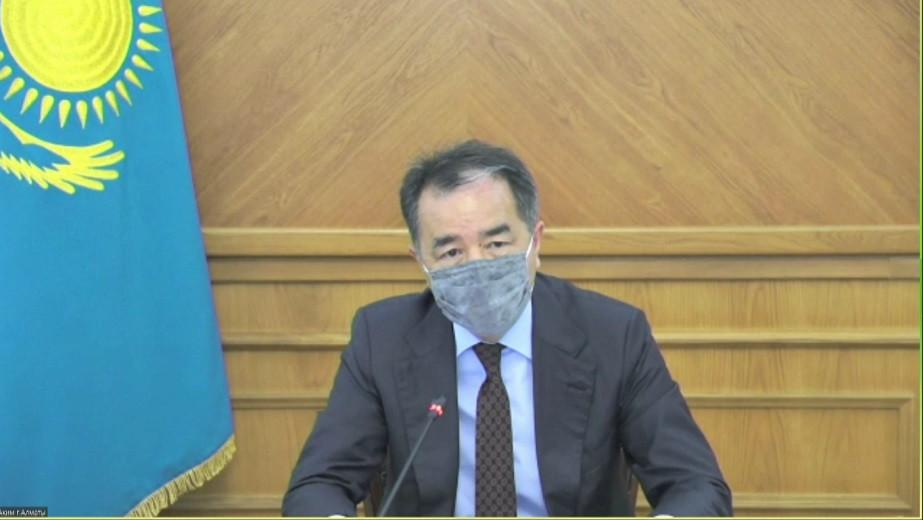 Б. Сагинтаев: Ливневые дожди показали готовность коммунальных служб Алматы к устранению последствий непогоды