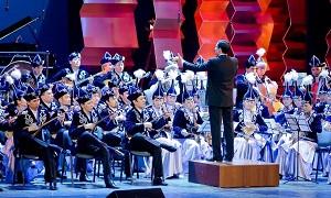 Құрманғазы атындағы Қазақ ұлттық оркестрі соғыс ардагерлеріне арнап мерекелік концерт қойды