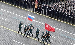 Мәскеуде Жеңіс күніне орай әскери шеру өтіп жатыр
