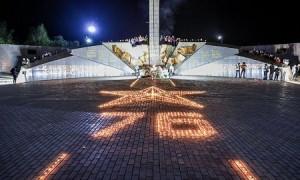 """В память о павших героях: акция """"Зажги свечу"""" прошла в Усть-Каменогорске"""