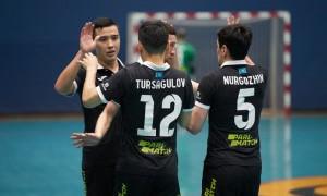 «Кайрат» разгромил «Атырау» в первом матче финала чемпионата Казахстана по футзалу