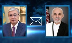 Касым-Жомарт Токаев выразил соболезнования президенту Афганистана