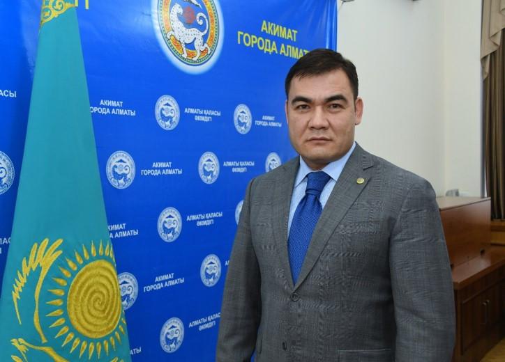 Е. Сейтенов Алматы қаласы Алмалы ауданының әкімі болып тағайындалды
