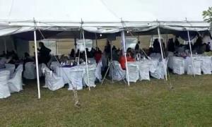 Той в разгар пандемии: к дочери чиновника пришли 400 гостей