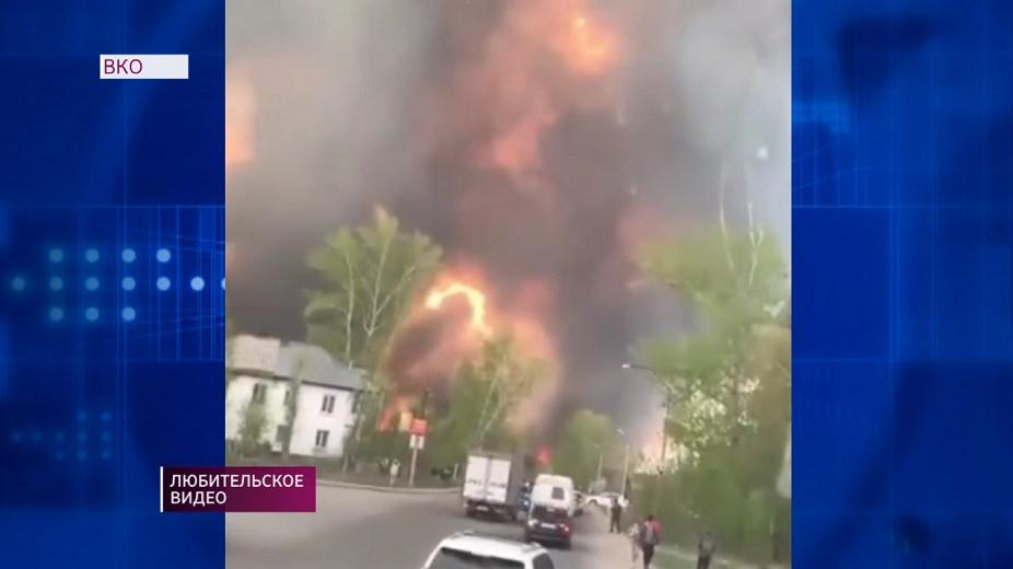 Пожар в Риддере: названа предварительная причина возгорания