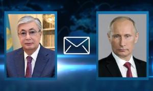 Касым-Жомарт Токаев отправил телеграмму соболезнования Владимиру Путину