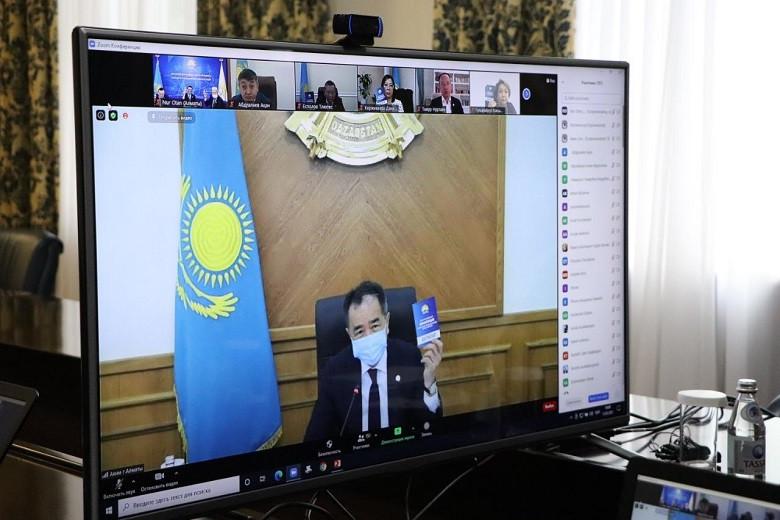 Nur Otan партиясының Алматы филиалы бастауыш ұйымдарының саны бойынша республикада 1-орында