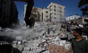 В секторе Газа сообщили об уничтожении Израилем здания министерства труда