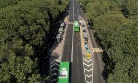 Автомобилистам могут разрешить ездить по автобусной полосе в Алматы