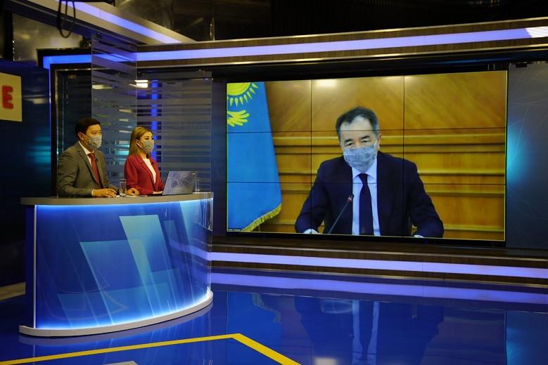 Расслабляться рано: аким Алматы рассказал о текущей эпидситуации