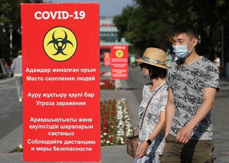 COVID-19 в Казахстане: 1120 новых случаев заражения за сутки
