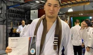 Казахстанские спортсмены стали обладателями черного пояса по бразильскому джиу-джитсу