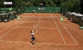 Алматыда теннистен халықаралық ATP Challenger турнирі өтті