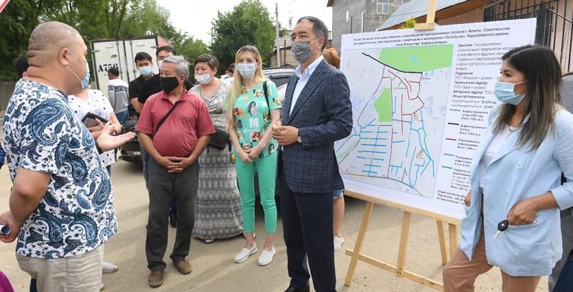 Б. Сагинтаев поручил не снижать динамику развития Наурызбайского района