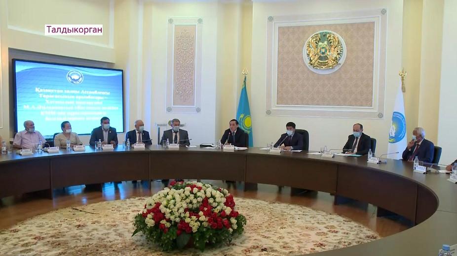 Зампредседателя АНК встретился с молодежью и общественниками Алматинской области