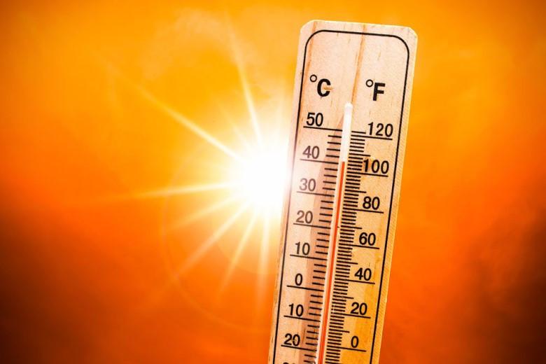Аномальная жара: в Жанаозене «приготовили» яичницу прямо на улице