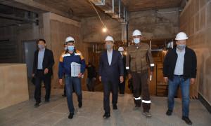 Б. Сагинтаев ознакомился с ходом строительства крупных развязок и пробивки магистральных улиц