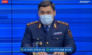 Полиция департаментінің басшысы Қ. Таймерденов тұрғындар сауалына жауап берді