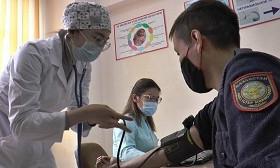Қанат Таймерденов: Алматылық полицейлер 100 пайыз вакцина алды