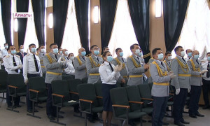Лучших полицейских наградили в Алматы