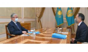 Президент РК принял акимов нескольких регионов