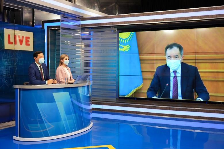 Б. Сагинтаев призвал заболевших горожан соблюдать правила самоизоляции
