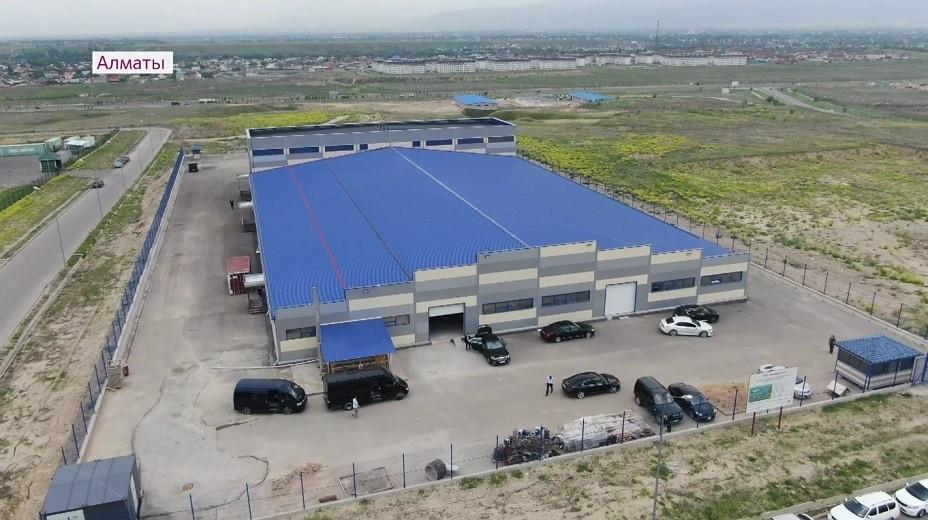 В Индустриальной зоне Алматы реализуют проекты по выпуску пищевой продукции и строительных материалов