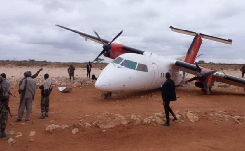 Пассажирский самолет разбился в Сомали
