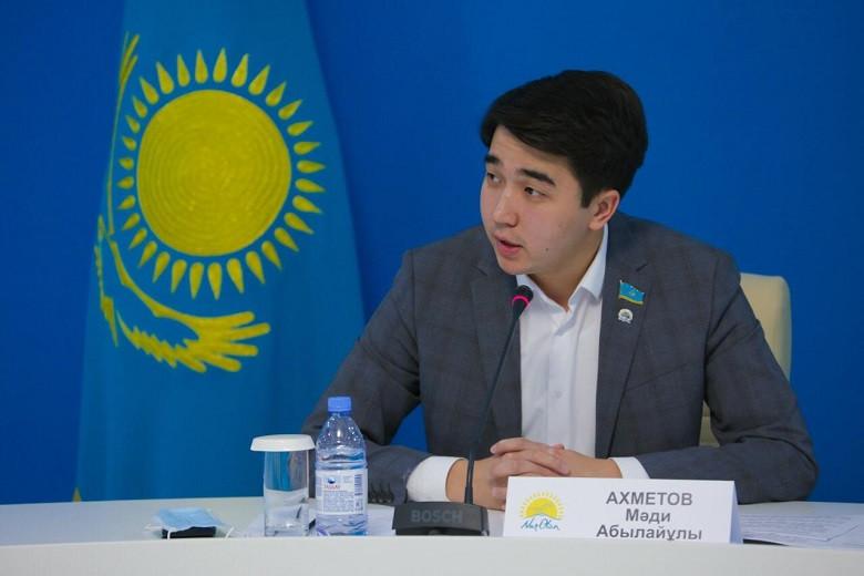 Мади Ахметов: Выборы сельских акимов - политический опыт для молодежи