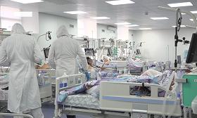 Стационар Алматы ежедневно принимает 100 пациентов с COVID-19
