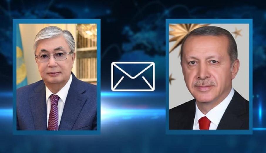 Касым-Жомарт Токаев направил телеграмму Реджепу Эрдогану