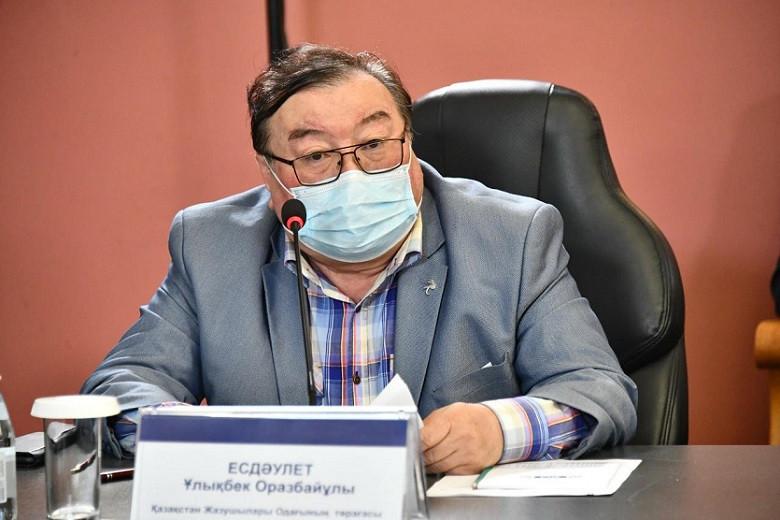 Глава Союза писателей Казахстана призвал алматинцев активнее вакцинироваться