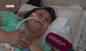 Пациенты ковидного стационара призывают алматинцев вакцинироваться