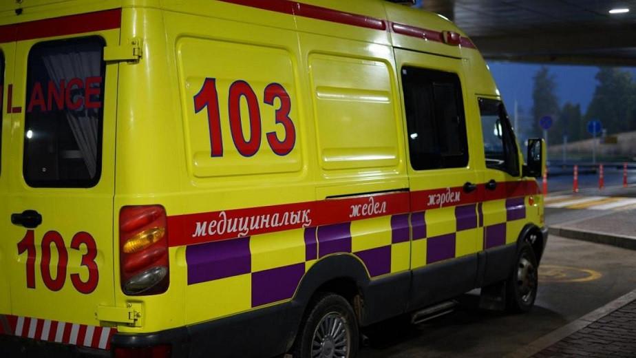 В Алматы 30% вызовов скорой помощи связаны с коронавирусом и пневмонией