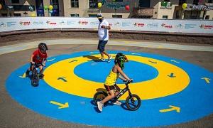 Развитие детского спорта: в Алматы открылись отделения уникальной велошколы