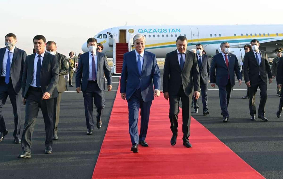 Мемлекет басшысы Қасым-Жомарт Тоқаев Душанбе қаласына келді
