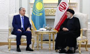 Мемлекет басшысы Иран Ислам Республикасының Президентімен кездесті