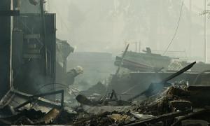 В Медеуском районе горел 4-х этажный дом – жертв и пострадавших нет